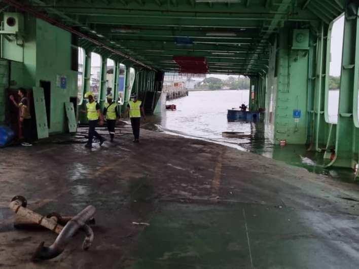 Penang Ferry Sunk