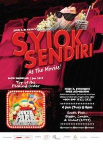 Syiok Sendiri at the movies