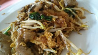 Fried Kway Teow with Beef