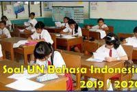 soal un bahasa indonesia sd 2019/2020pdf