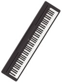 Yamaha P45 Digital Piano at Penarth Music Centre