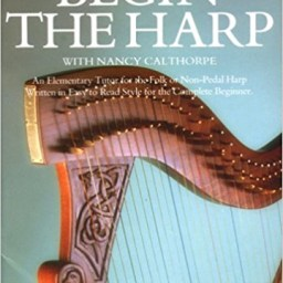 Begin The Harp music book at Pencerdd music store penarth