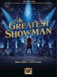 the greatest showman piano vocal guitar music book at Pencerdd music store penarth near cardiff