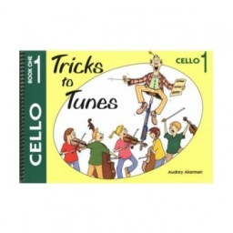 Tricks to Tunes Cello Book 1 available at Pencerdd Music Shop, Penarth