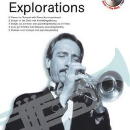 Allen Vizzutti Explorations Trumpet Book & CD available at pencerdd music store