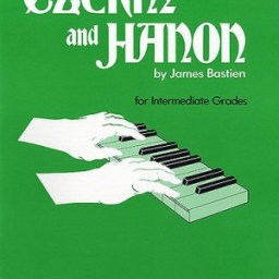 Bastien: Czerny And Hanon For The Intermediate Grades available at Pencerdd Music Store Penarth