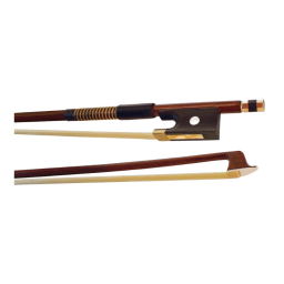 Hidersine Octagonal Brazilwood Violin Bow - available at Penarth Music Centre