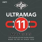 Rotosound Ultramag 11- 48 Alloy 52 Electric Guitar Strings at pencerdd music store penarth near cardiff
