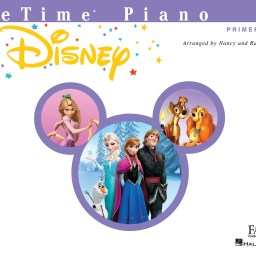Piano Adventures PreTime - Disney available at Pencerdd Music Shop, Penarth