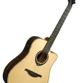 LAG HYVIBE guitar 30 THV30DCE available at pencerdd music penarth near cardiff