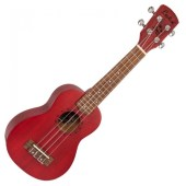 Laka Soprano Ukulele Red available at Penarth Music Centre