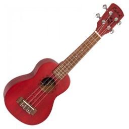 Laka Soprano Ukulele Red available at Penarth Music Centre