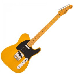 Vintage V52 Reissued Butterscotch Electric Guitar available at Penarth Music Centre