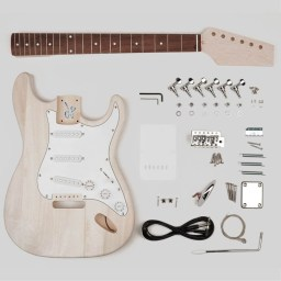 Guitar Assembly Kit Stallion Model available at Penarth Music Centre