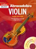 Abracadabra Violin Book 1 with 2 cd's available at Penarth Music Centre