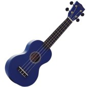 Mahalo Soprano Ukulele rainbow Blue available at Penarth Music Centre