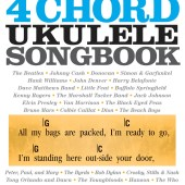 4 Chord Ukulele Songbook available at Penarth Music Centre