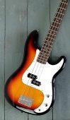Aria STB Bass Sunburst available at Penarth Music Centre