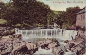 Llanclywedog Weir, Llanidloes