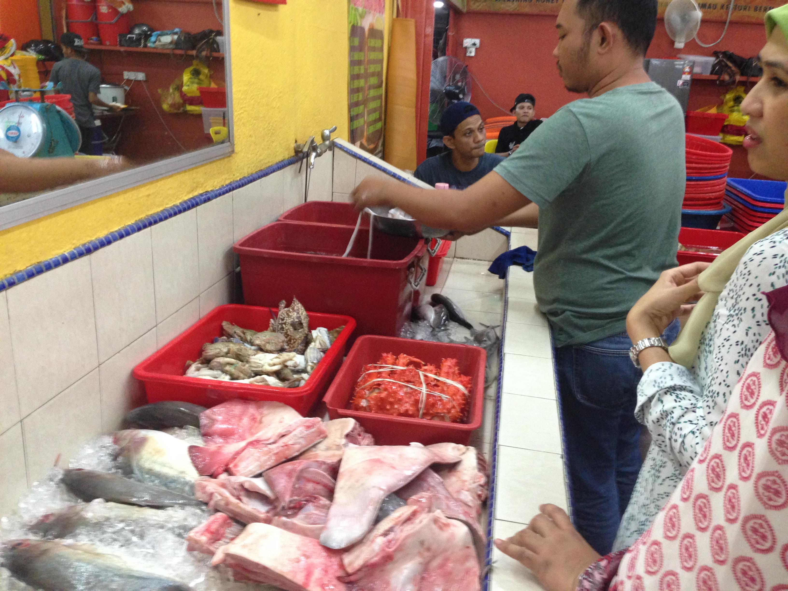 Ikan Bakar Muara Sungai Duyong Kedai Makan Sedap Melaka