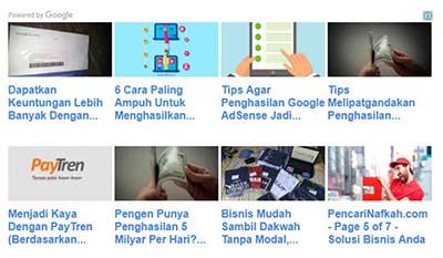 Matched Content Google AdSense