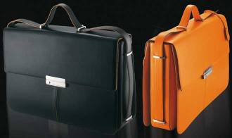 gifts for attorneys- Delta Markiaro leather briefcase