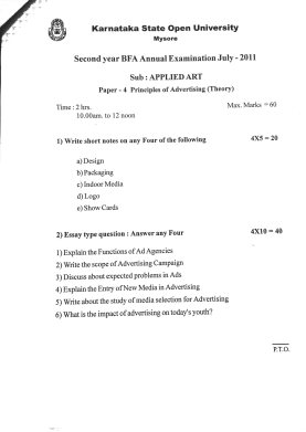 Question-paper_Applied-Art_2011_5 Question Paper Collection 2011 - 2nd year BFA  - Question paper Applied Art 2011 5 - Question Paper Collection 2011 – 2nd year BFA