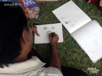 Practice make you better portrait drawing - Potrait Drawing Fundamentals PencilAndChai ColorIn6 - Live portrait drawing study