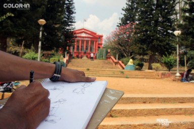 Outdoor Realistic Painting Classes in Bangalore_Pencil And Chai outdoor realistic painting classes - Weekend Art Classes In Banaglore  434909807 - Outdoor Realistic Painting Classes