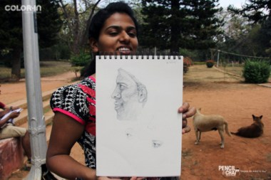 Outdoor Realistic Painting Classes in Bangalore_Pencil And Chai outdoor realistic painting classes - Weekend Art Classes In Banaglore  434909820 - Outdoor Realistic Painting Classes