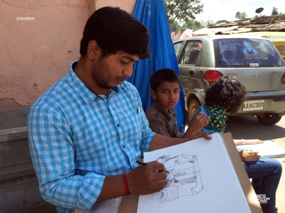 PAC @ Pottery Town bangalore weekend art sessions - Pencil and Chai Life Sketching Classes in Bangalore 17 - Bangalore Weekend Art Sessions – Pottery Town – PencilAndChai#113