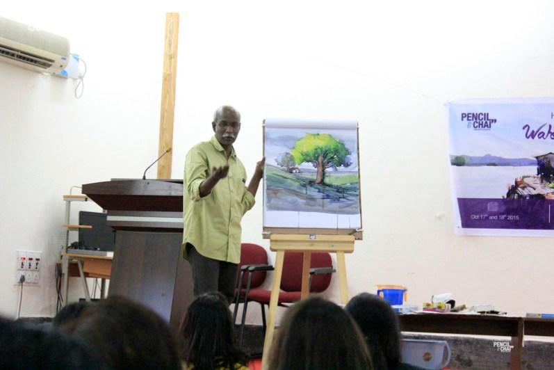Hues of Watercolor 2_Watercolor workshops in Bangalore_Sadhu AliyurMG_9909