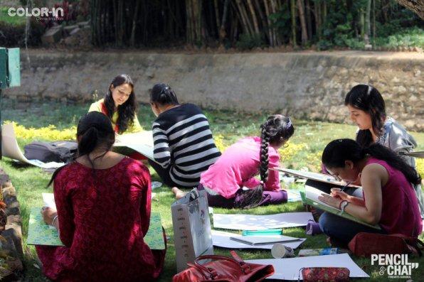 Hues of Watercolor_Watercolor workshops in Bangalore_Coloring India0047