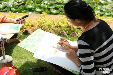 Hues of Watercolor_Watercolor workshops in Bangalore_Coloring India0052
