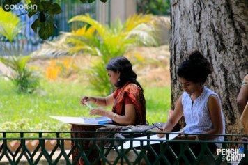 Hues of Watercolor_Watercolor workshops in Bangalore_Coloring IndiaMG_0031