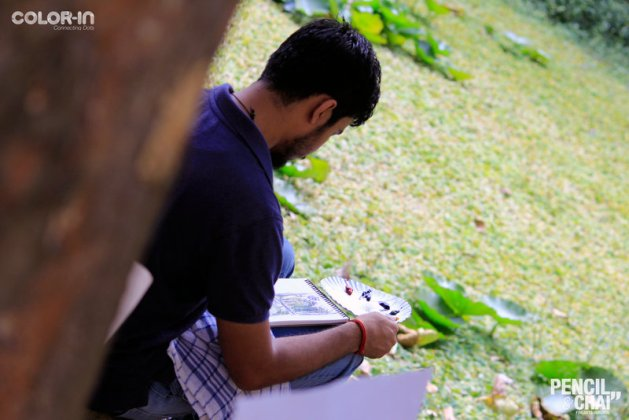 Hues of Watercolor_Watercolor workshops in Bangalore_Coloring IndiaMG_0089