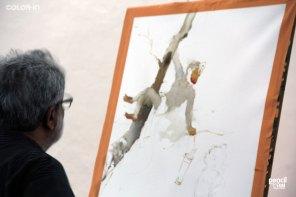 IMG_2973 painting workshop - IMG 2973 - Hues of Watercolor 6 Painting Workshop in bangalore-Vasudeo Kamath