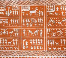 WARLI PAINTINGS weekend art classes - Warli painting Classes in Bangalore 220x192 - Weekend Art Classes in Bangalore : Pencil & Chai Fine Arts Gurukul