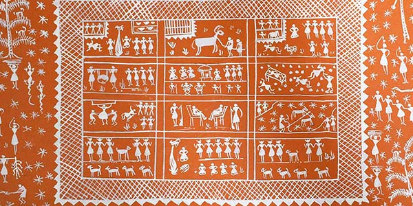 warli paintings - Warli painting Classes in Bangalore - WARLI PAINTINGS