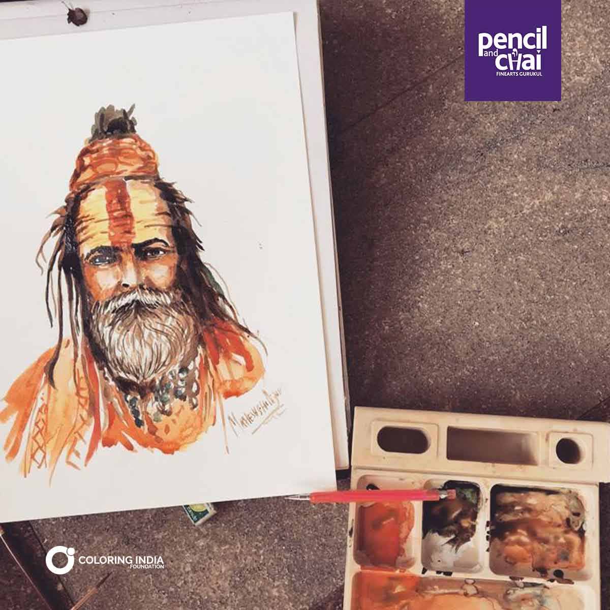 Watercolor-Painting-Classes-by-Pencil-And-Chai fine arts courses - Watercolor Painting Classes by Pencil And Chai - Fine Arts Courses Offered by Pencil And Chai