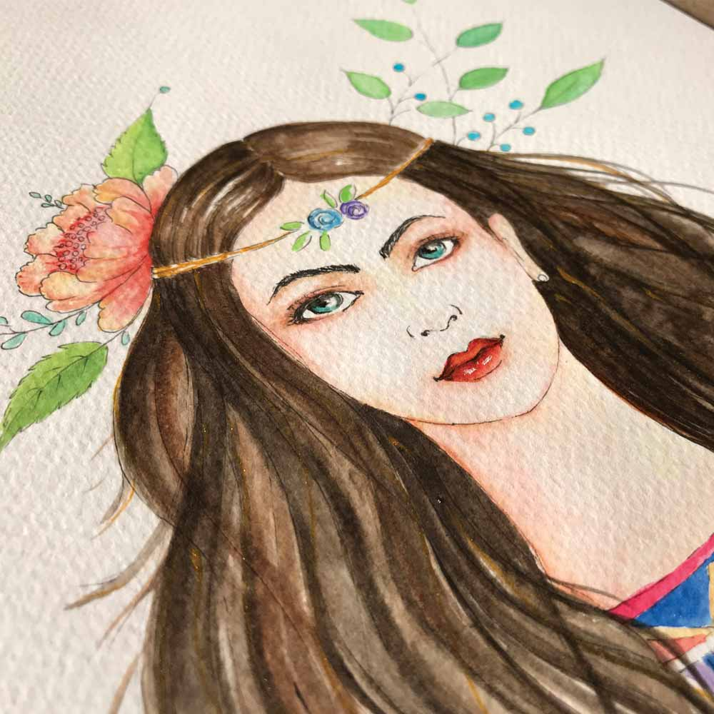 Watercolor Painting Classes by Pencil And Chai