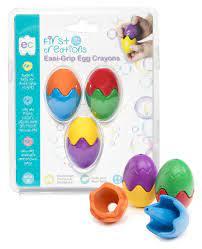 Easi-Grip Egg Crayons Set of 3