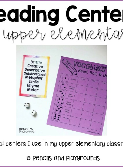 Reading Centers in Upper Elementary