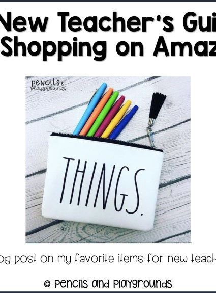 A New Teacher's Guide to Shopping on Amazon