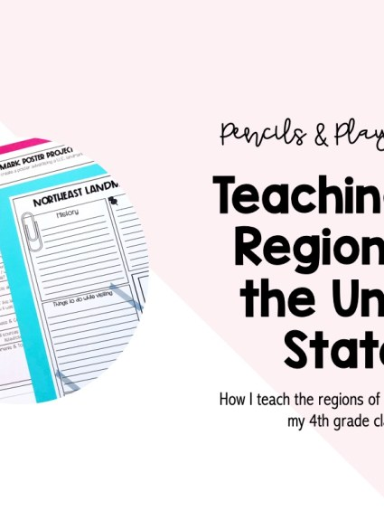 Teaching the Regions of the United States