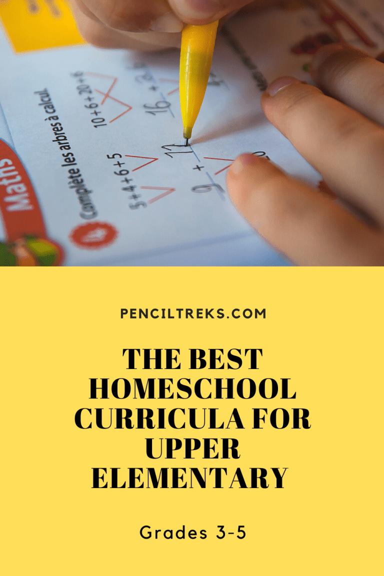 Curricula for Homeschool Grade 3, 4, 5