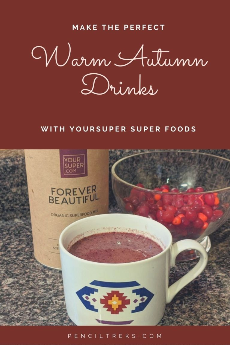 These recipes for warming fall drinks with Your Super superfoods are a delicious way to drink to good health!
