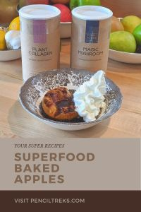 Get some extra superfoods in your diet with this recipe for Your Super Baked Apples which honestly is great in fall OR winter.