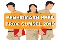 P3K Provinsi Sumatera Selatan 2019