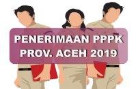 P3K / PPPK Provinsi Aceh 2019
